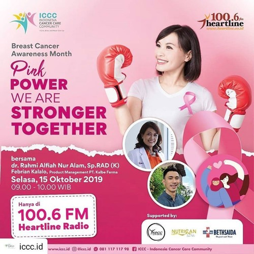 Pink Power We are Stronger Together | Health Talk 15 Oktober 2019
