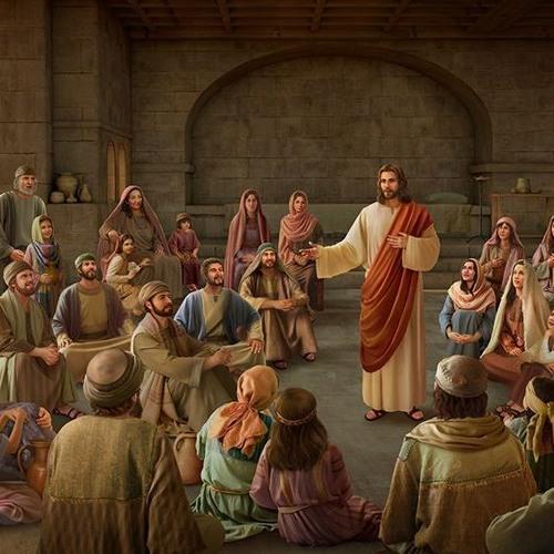 God in het vlees is een levende fontein van leven