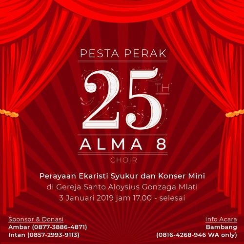 5. Majesty the Glory of Your Name - Konser Perak Alma 8 Choir