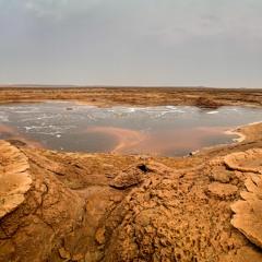 Ethiopia - Danakil Depression - Gaet'ale Pond Boiling
