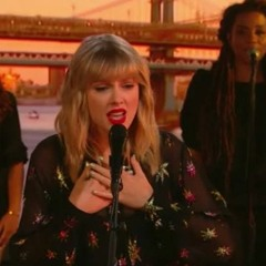 Taylor Swift - Can't Stop Loving You (Phil Collins Cover BBC Radio 1)