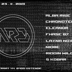 S Kobar - Heavy Techno Promo Mix For NRD Act.14 @ Boccaccio Beach (october 2019)