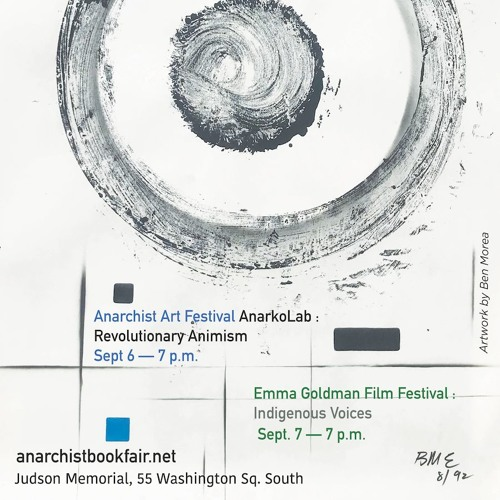 Ben Morea at Anarchist Book Fair - Sept 7, 2019