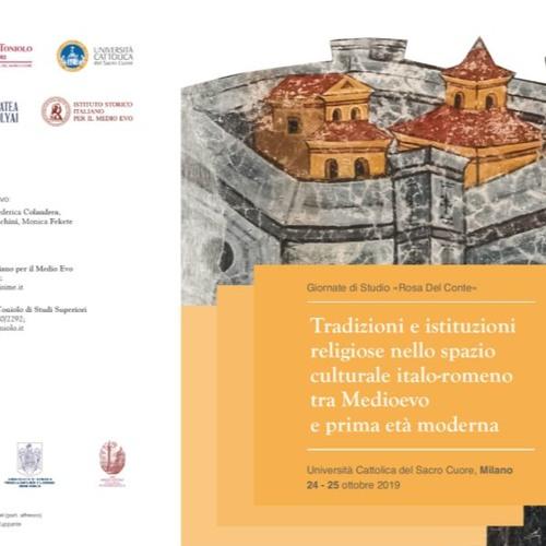 Giornate di studio Rosa del Conte, convegno italo-romeno a Milano