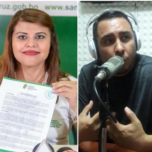 ELECCIONES: Carolina Ortuste (Auto de Buen Gobierno)/Rolando Schrupp (Elecciones)