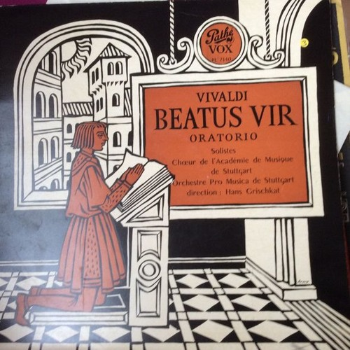 Antiphon from from Beatus Vir, RV 597, Antonio Vivaldi