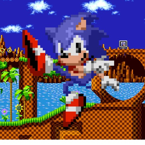 Sonic the Hedgehog (1991, 16-Bit) – Green Hill Zone