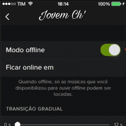 Jovem Ch' - Modo Offline
