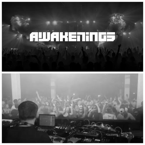 Saytek Live Performance at Awakenings (Carl Cox x Awesome Soundwave) Warehouse Elementenstraat ADE