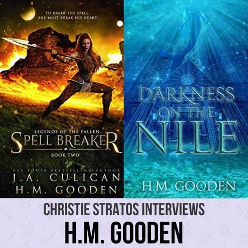 YA Fantasy Author H.M. Gooden on Writers Showcase with Christie Stratos