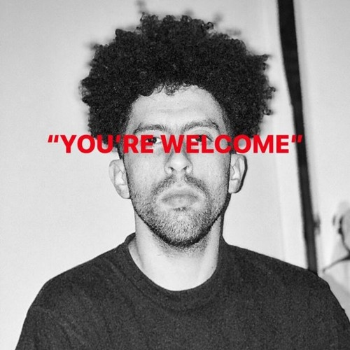 """""""You're welcome"""""""
