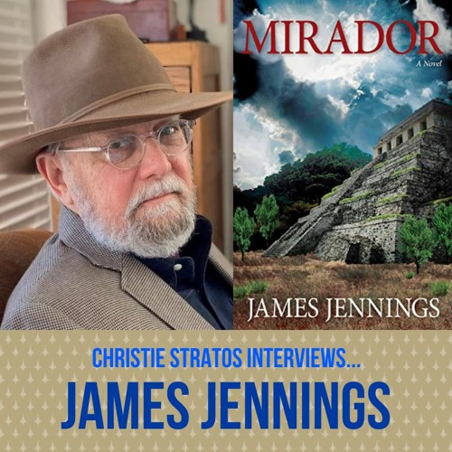 Contemporary Fiction Author James Jennings on Writers Showcase with Christie Stratos