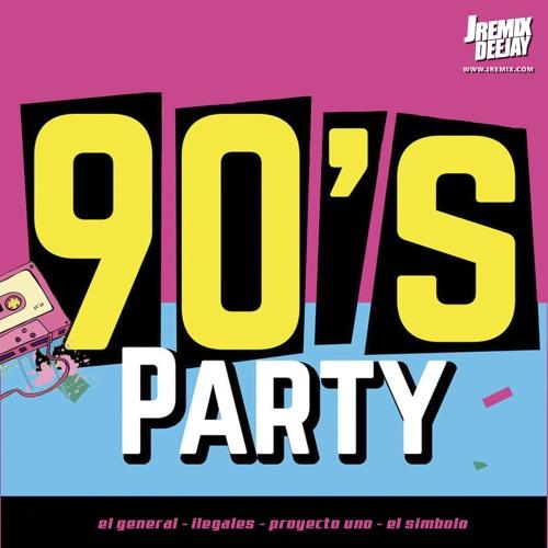 Mix 90s Vol.2 By JRemix DJ ( Boricua - El General )