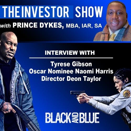 Movie Stars Tyrese Gibson & Naomie Harris stops by to discuss their movie Black & Blue