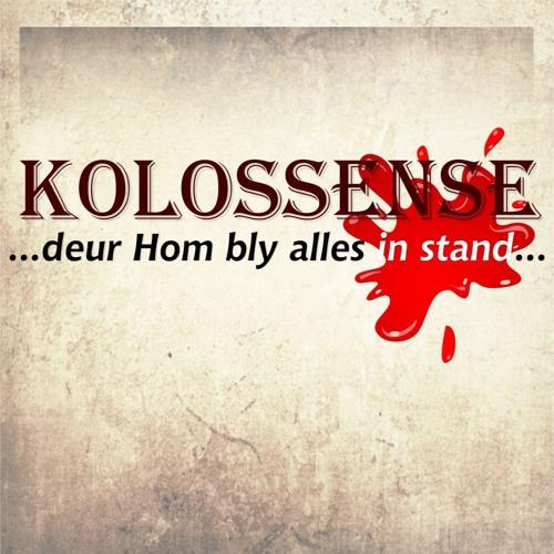 20191020 - Kolossense - Week 3 - Adriaan van den Berg