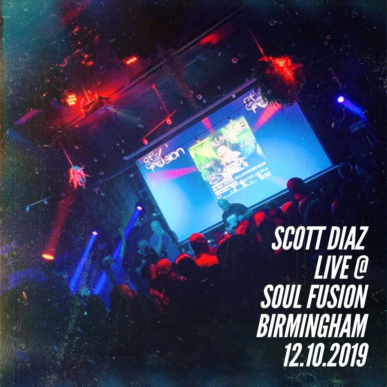 Scott Diaz Live @ Soul Fusion Birmingham - 12th October 2019