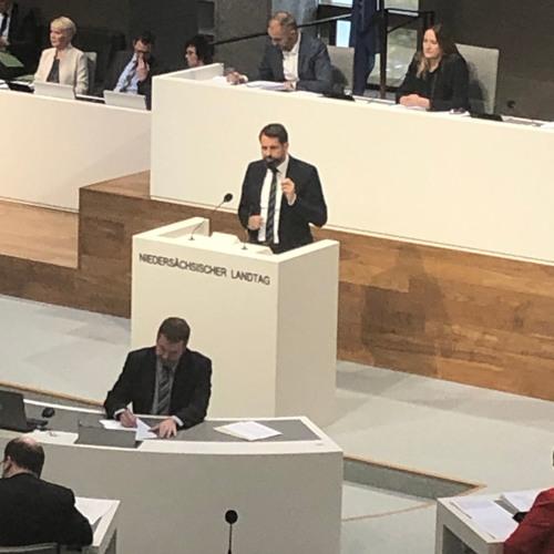 Landtag Niedersachsen: Rede zum Entwurf eines Klimaschutzgesetzes