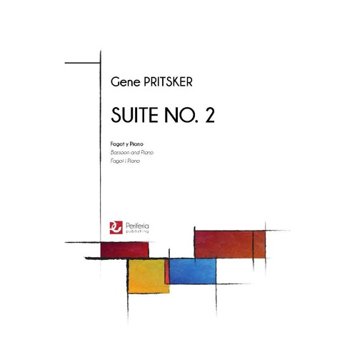 Gene Pritsker - Suite No. 2 for Bassoon and Piano