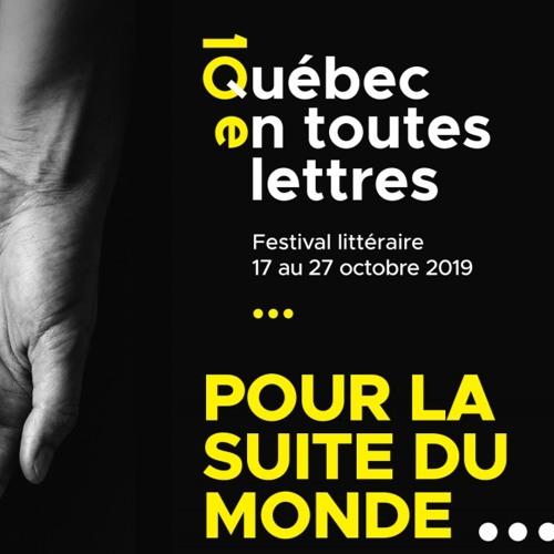 Québec en toutes lettres - Ceci n'est pas une pub