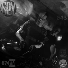 SITH UTR 674.fm Podcast 043 By CLAUS BACHOR & ROLAND CASPER [spinning 27yo Psycho Thrill Prt.1.0]