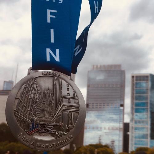 132: 2019 Chicago Marathon: Running Through The City Of Chicago