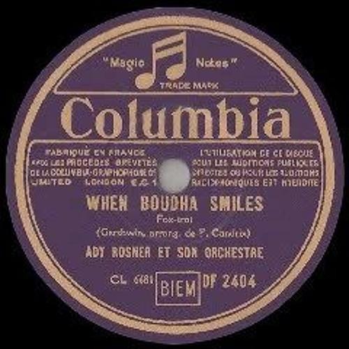 Ady Rosner Et Son Orchestre - When Buddha Smiles
