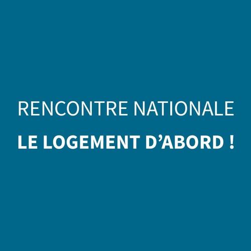 23 Oct. 2019 - Rencontre nationale SOLIHA - Le Logement d'abord !