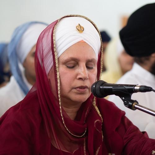 Bibi Jaswinder Kaur - aao sakhee har mel karehaa - Preetie's 18th Keertan Bebe Nanaki 26.10.19