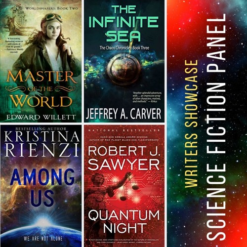 Science Fiction Discussion Panel on Writers Showcase with Christie Stratos