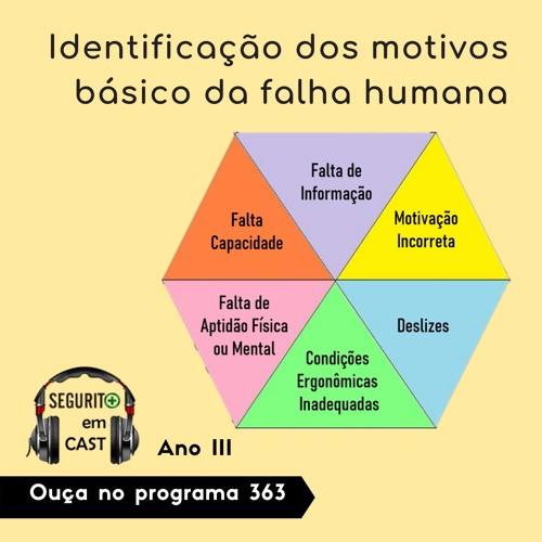 #363 - Identificação dos motivos básicos da falha humana