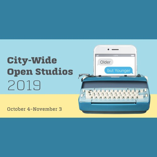 City-Wide Open Studios broadcast from Erector Square--October 19, 2019