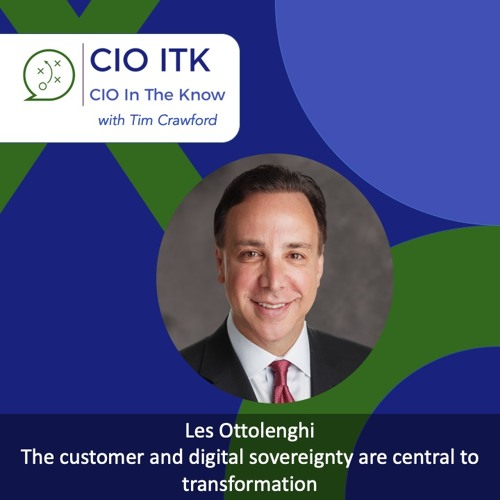 The customer and digital sovereignty are central to transformation with Les Ottolenghi – CIOitk #23