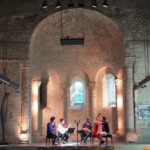 Extraits concert Abbaye de Chirens : Quatuor Wassily (29/9/19)