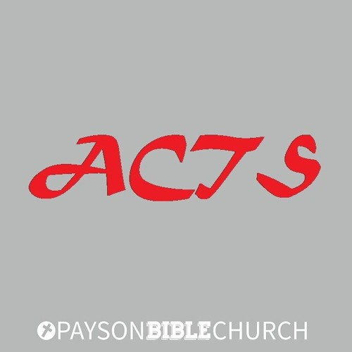 Acts: Peter's Sermon at Pentecost (part one)