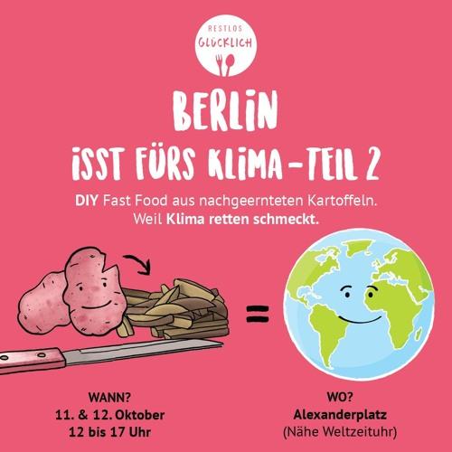 """Berlin isst fürs Klima"" bei Radio Paradiso."