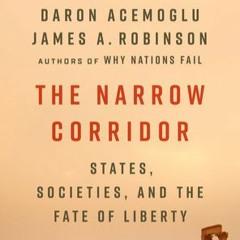 """The Narrow Corridor"": Professor Daron Acemoglu"