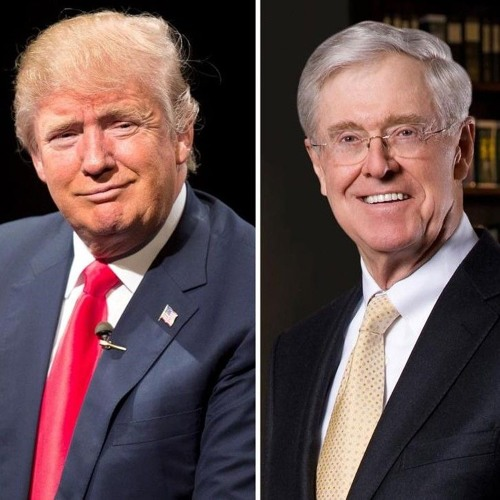 The Koch Brothers and Trump; How TV Made Trump; Ilhan Omar in Minneapolis