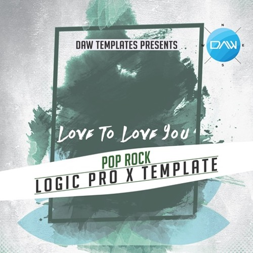 Love To Love You Logic Pro X Template