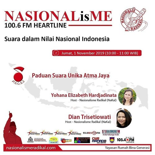 Suara dalam Nilai Nasional Indonesia   NASIONALisME 01 November 2019