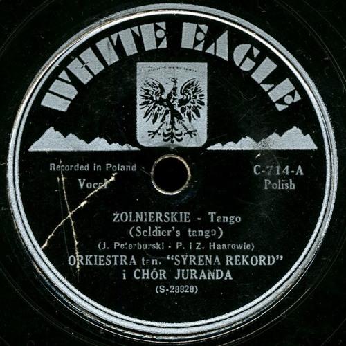 Chór Juranda - Żołnierskie tango (bracia Haarowie - J.Petersburski), 1938 г.