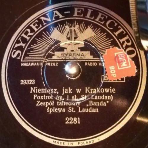 Banda - Niemasz, jak w Krakowie (St.Landau), 1939 г.