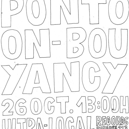 Pontoon @ Live Ultra-local records store. 26 11 2019