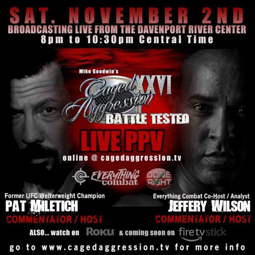 Pat & Jeffery CALLING a STACKED MMA CARD!!