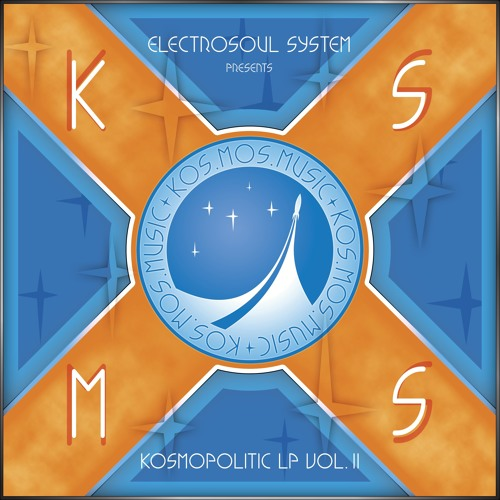 "KOSMOS105LPDGTL V/A ""Kosmopolitic LP Vol.II"", Mixed by Electrosoul System"