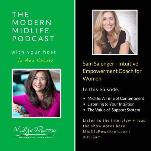 MODERN MIDLIFE 003 - Intuition And Coaching For Midlife Women