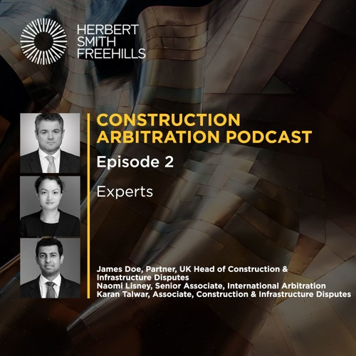 Construction Arbitration EP2: Experts