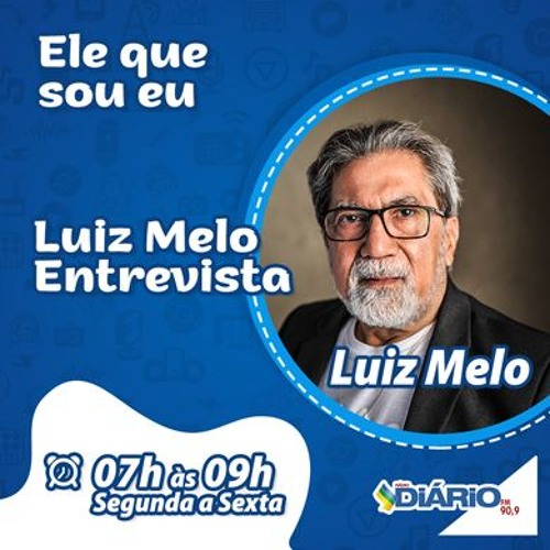 LUIZ MELO ENTREVISTA - 30 - 10 - 2019
