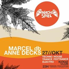 2019-10-27 Anne Decks, Marcel db - NACHSPIEL Sonntag-Nightlife [KitKatClub]