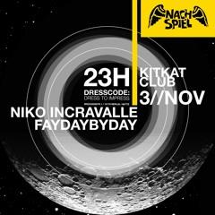 2019-11-03 Niko Incravalle, FayDaybyDay - NACHSPIEL Sonntag-Nightlife [KitKatClub]