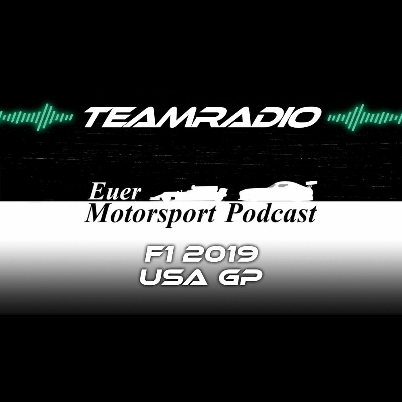 F1 2019 USA GP Review | Bottas Sieg bei Hamiltons WM Party! | TeamRadio Podcast